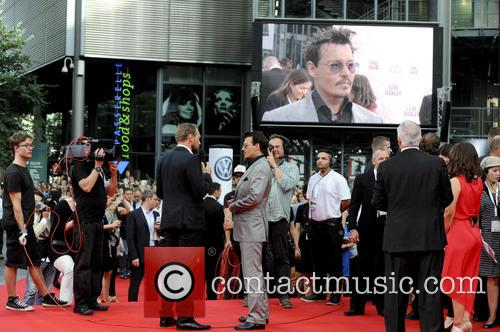 johnny depp the german premiere of the 3773275