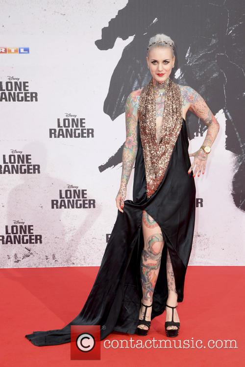 The German premiere of 'The Lone Ranger'