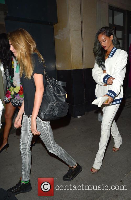 Cara Delevingne, Rihanna, CENTRAL