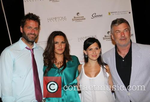Peter Hermann, Mariska Hargitay, Hilaria Thomas Baldwin and Alec Baldwin 2