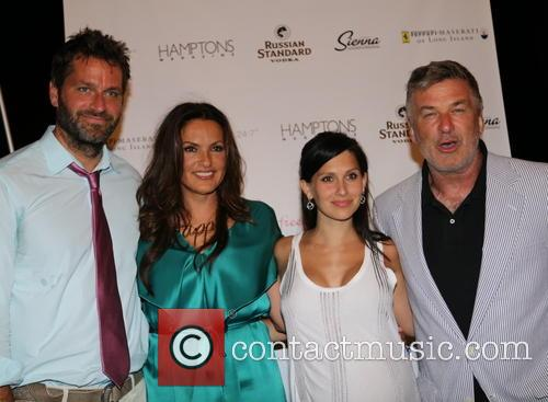Peter Hermann, Mariska Hargitay, Hilaria Thomas Baldwin and Alec Baldwin 3