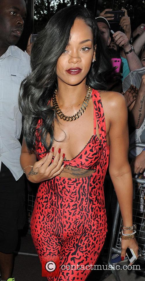 Rihanna Leopardprint Jumpsuit