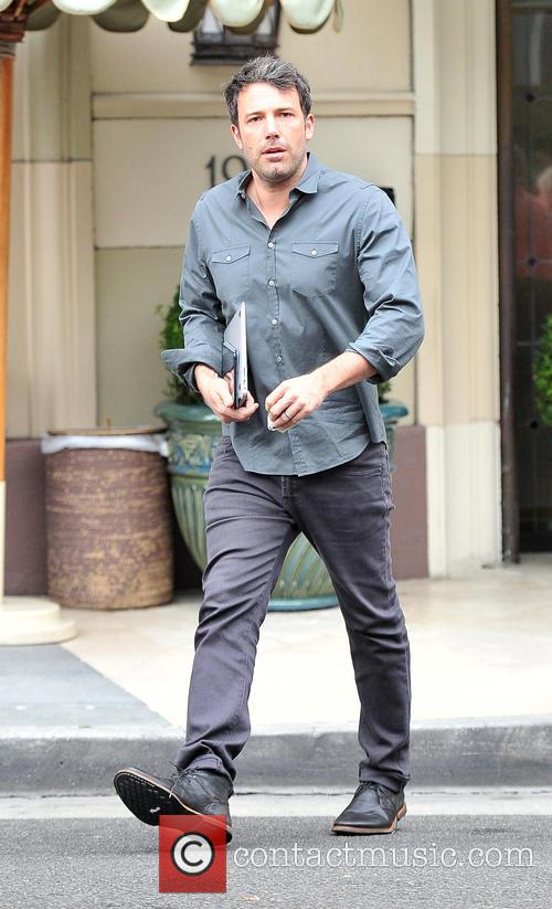 Ben Affleck leaving Hotel Casa Del Mar