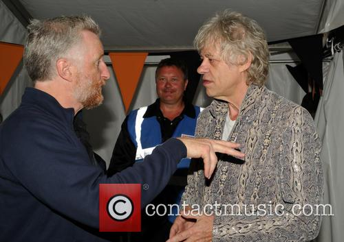 Bob Geldof and Billy Bragg