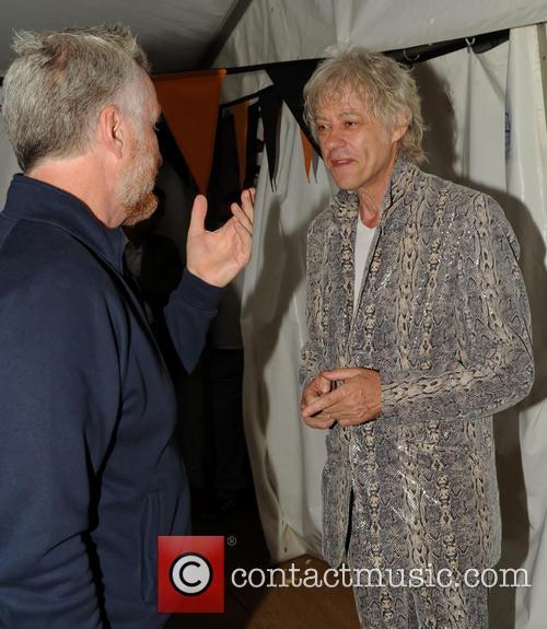 Bob Geldof, Billy Bragg, Whiddon Down