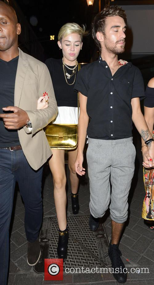 Celebrities at Cirque le Soir nightclub