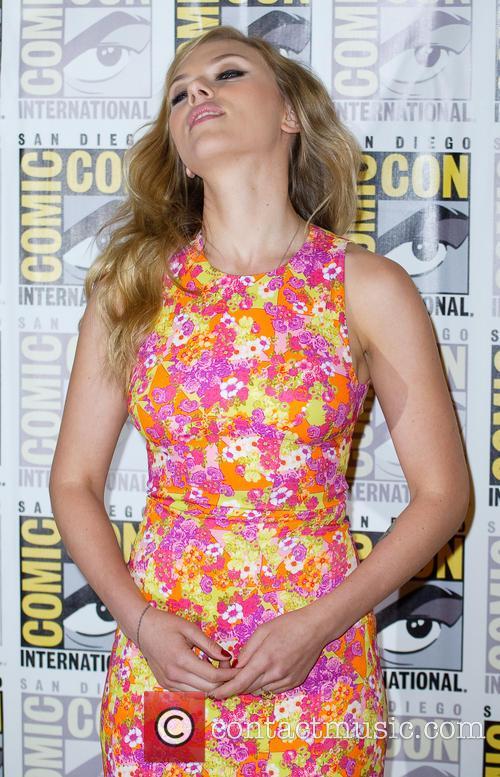 Scarlett Johansson Comic Con