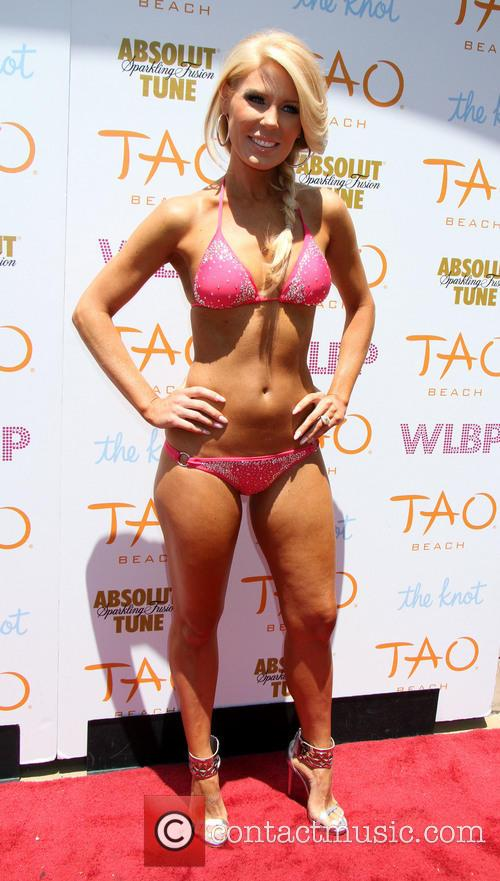 Gretchen Christine Rossi at TAO Beach