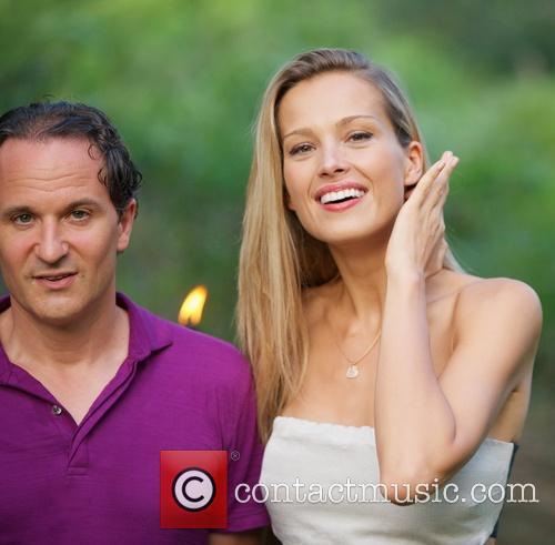 David Hryck and Petra Nemcova 2