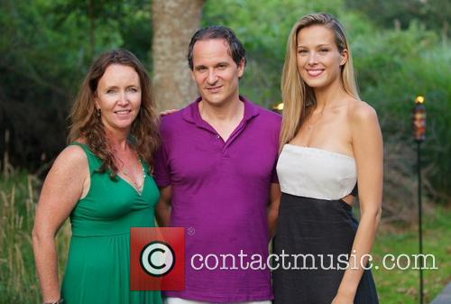 Kathleen Kelley, David Hryck and Petra Nemcova 2