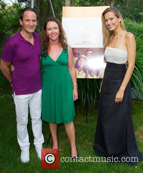 Petra Nemcova attends Happy Hearts Fund event