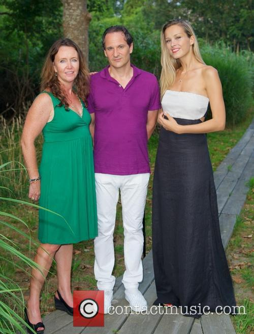 Kathleen Kelley, David Hryck and Petra Nemcova 3