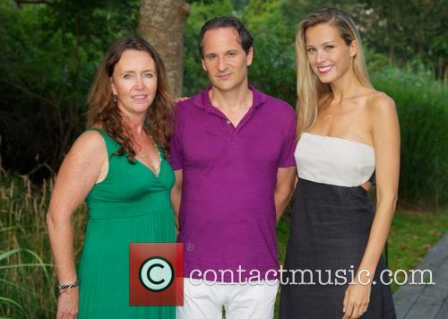 Kathleen Kelley, David Hryck and Petra Nemcova 1