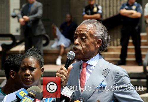 Al Sharpton and Sabrina Fulton 3