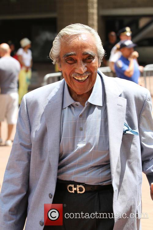 Justice and Congressman Charles B. Rangel 10