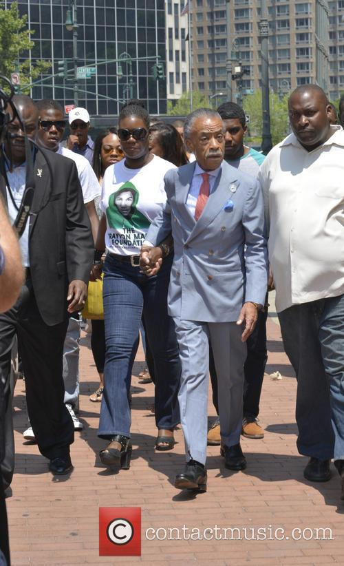 Al Sharpton, Sybrina Fulton and Justice 11