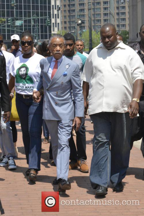 Al Sharpton, Sybrina Fulton and Justice