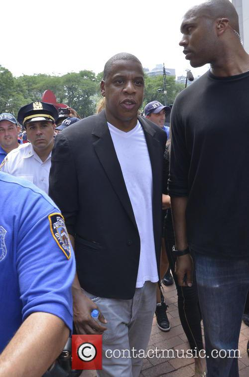 Jay Z, Justice for Trayvon Martin Rally