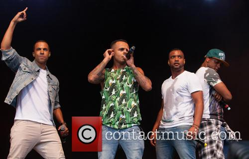 Aston Merrygold, Marvin Humes, Oritse Williams, Jonathan 'jb' Gill and Jls 2