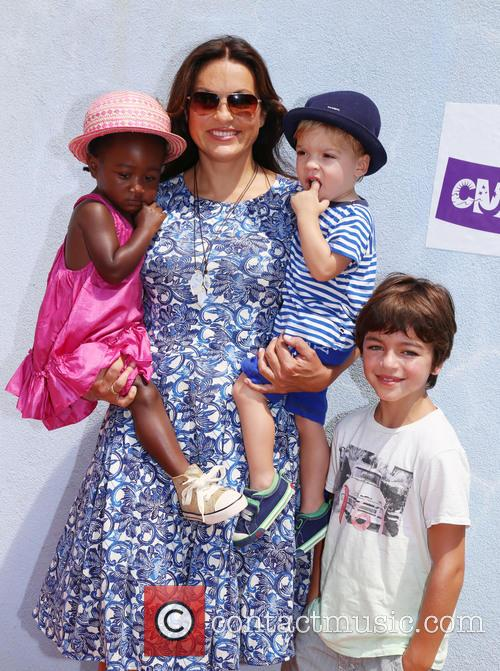 Mariska Hargitay, Amaya Andrew and August 5