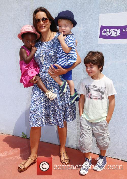 Mariska Hargitay, Amaya Andrew and August 9