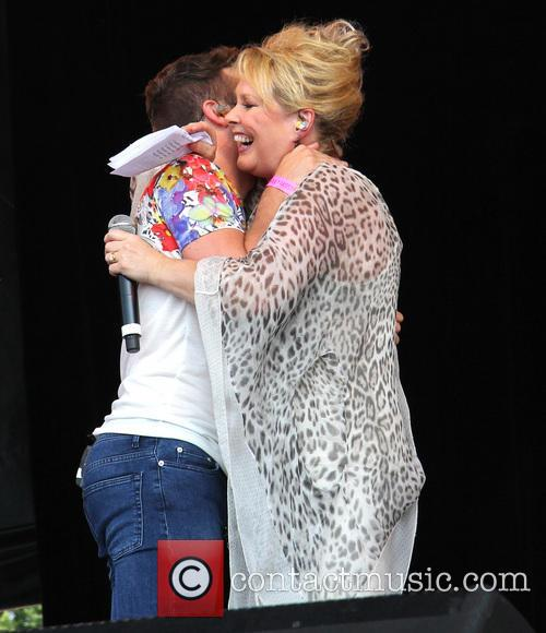 Joe Mcelderry and Cheryl Baker 4