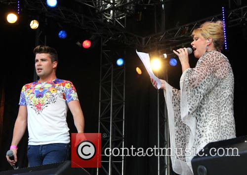 Joe Mcelderry and Cheryl Baker 8