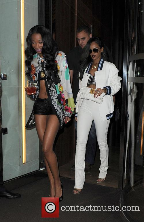 Rihanna and Melissa Forde 6