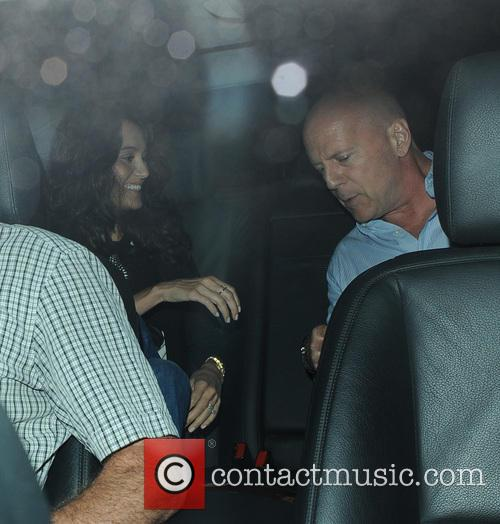 Bruce Willis and Emma Heming 4