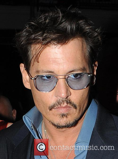 Johnny Depp and Amber Heard Arrive at Cipriani...