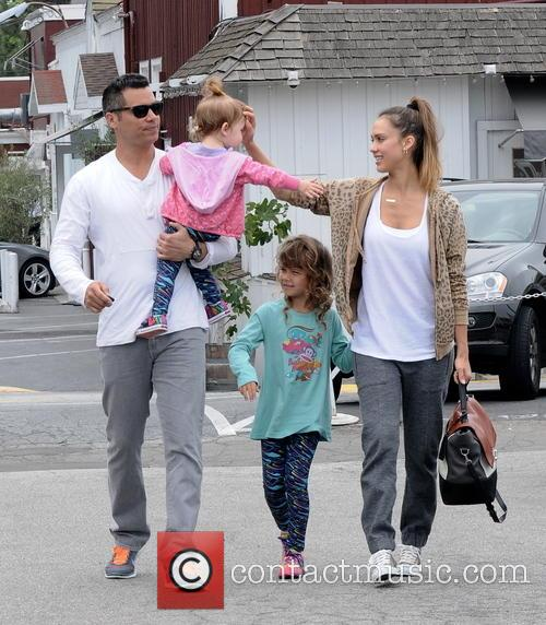 Jessica Alba, Cash Warren, Honor Marie Warren and Haven Garner Warren 6