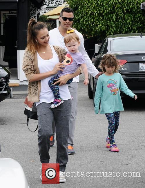 Jessica Alba, Cash Warren, Honor Marie Warren and Haven Garner Warren 8