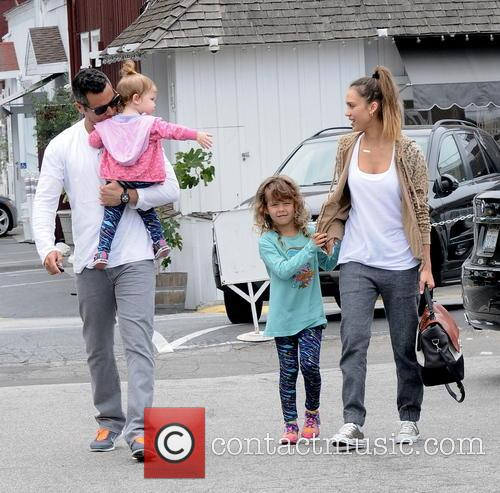 Jessica Alba, Cash Warren, Honor Marie Warren and Haven Garner Warren 10