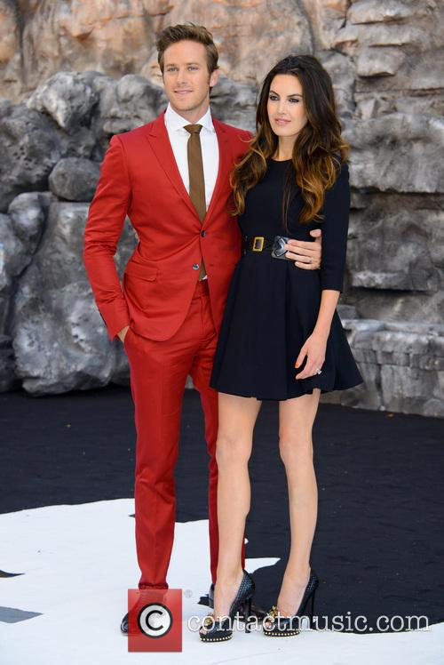 Armie Hammer and Elizabeth Chambers 3