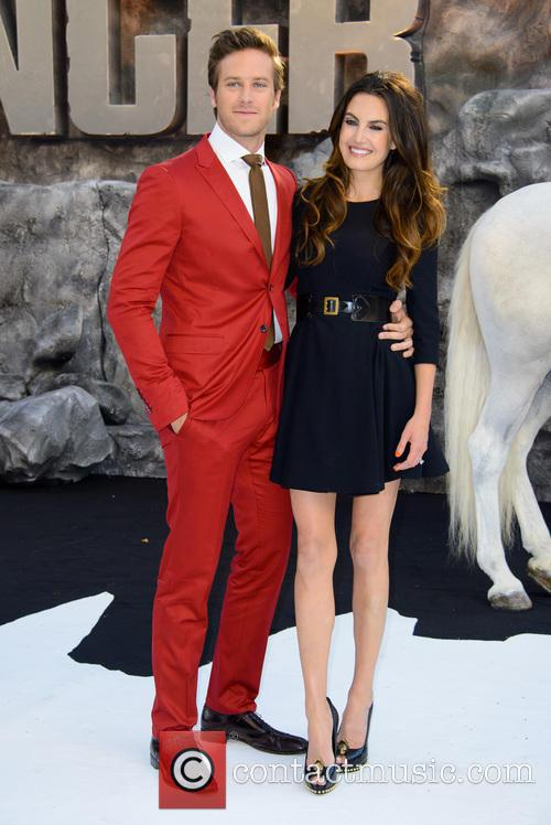 Armie Hammer and Elizabeth Chambers 1