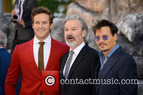 Armie Hammer, Gore Verbinski, Johnny Depp, Disney