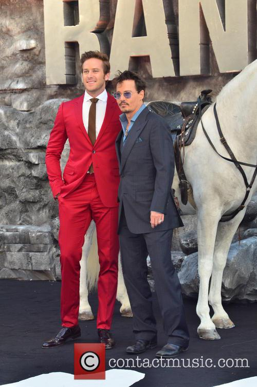 Armie Hammer and Johnny Depp 2