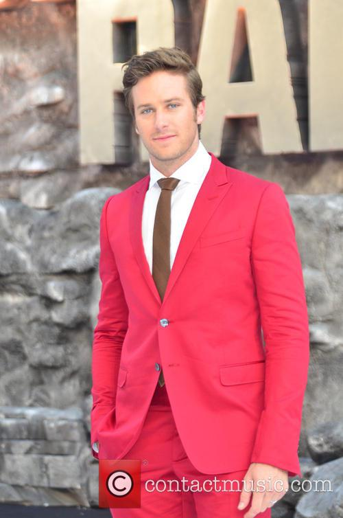 Armie Hammer, Disney, Odeon Leicester Square