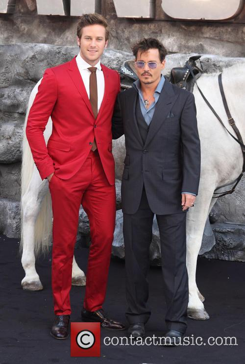 Armie Hammer, Johnny Depp, Odeon Leicester Square, Disney