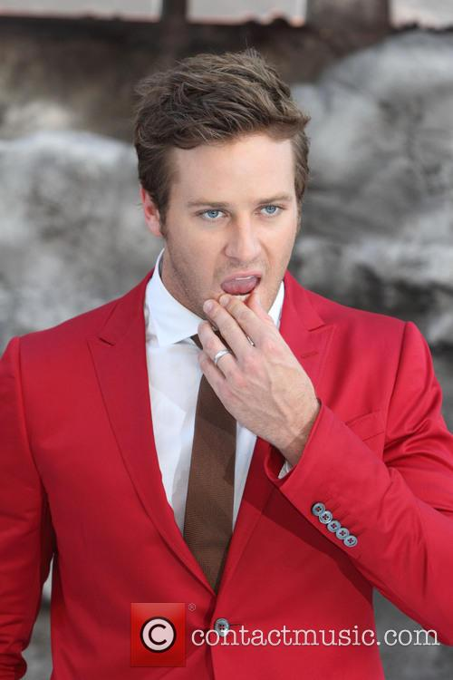 Armie Hammer, Odeon Leicester Square, Disney
