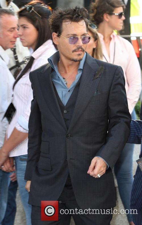 johnny depp uk premiere of the lone 3775097