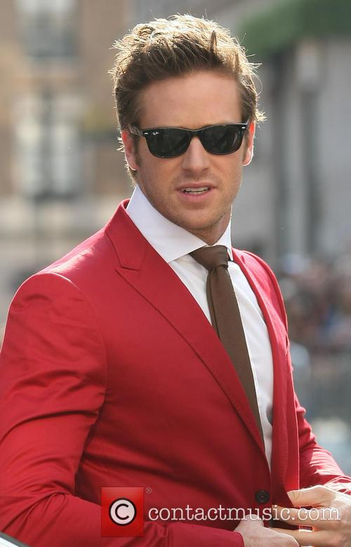 Armie Hammer, Leicester Square, Disney