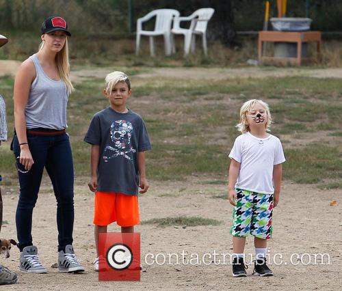 Gwen Stefani, Kingston Rossdale and Zuma Rossdale 13