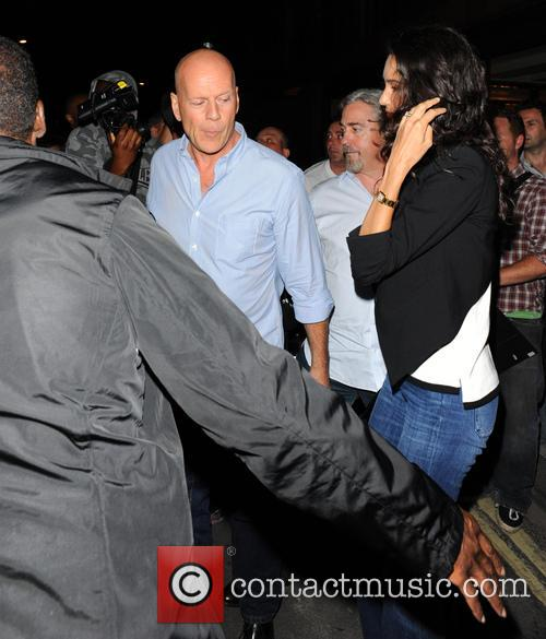 Bruce Willis and Emma Heming Willis 2