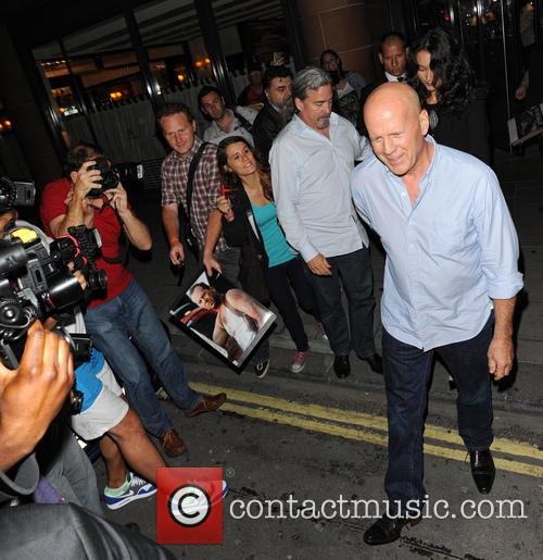 Bruce Willis and Emma Heming Willis 1