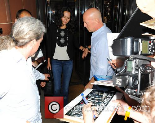 Bruce Willis and Emma Heming Willis 11