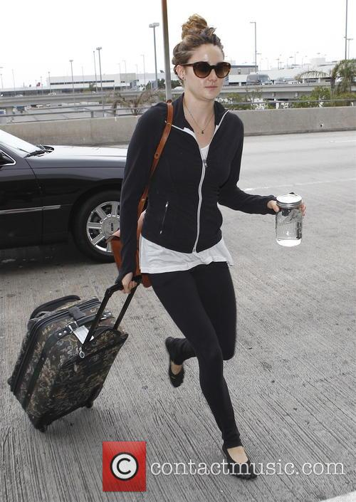 Shailene Woodley at LAX