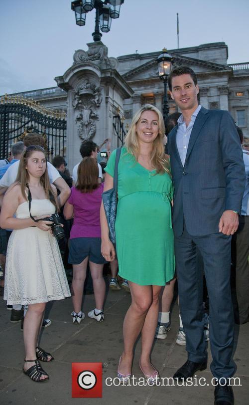 Buckingham Palace, Stephanie Wibom and Patrik Wibom 2