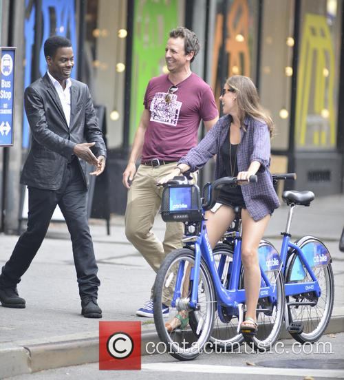 Chris Rock, Seth Meyers and Alexi Ashe 3