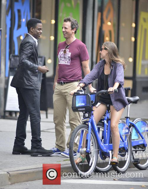 Chris Rock, Seth Meyers and Alexi Ashe 4
